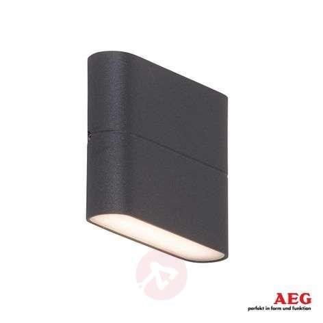 Flat Telesto LED outdoor wall lamp - width 11.5cm