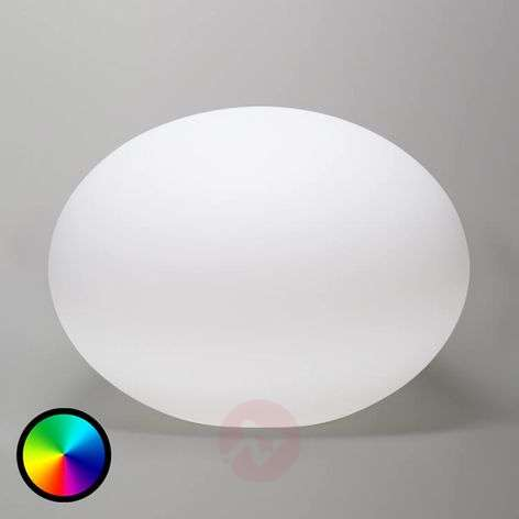 Flatball - buoyant LED decorative light