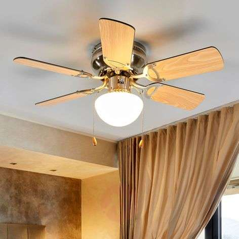 Flavio six-blade ceiling fan with light-4018095-310