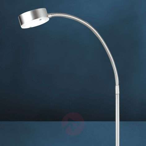 Flexible LED floor lamp SATURN, one-bulb