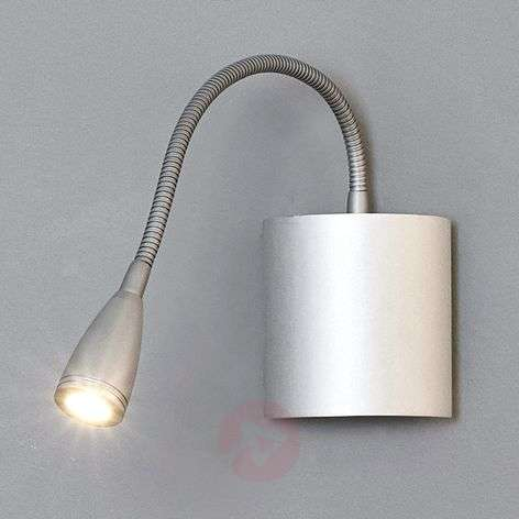 Flexible wall reading light Anneli with LED