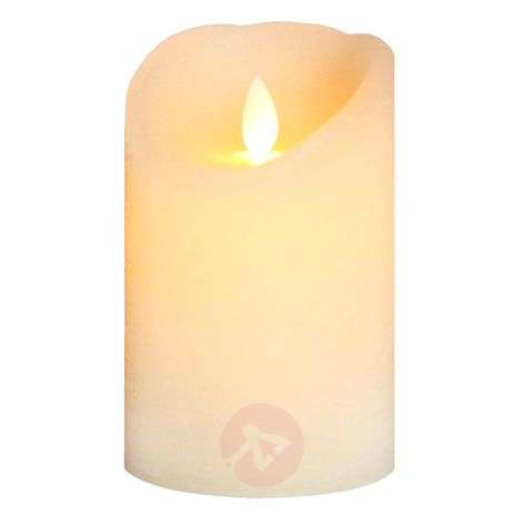 Flickering flame - Glim Frost LED candle, ivory