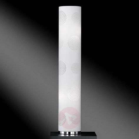 Floor lamp Joona with decorative shade