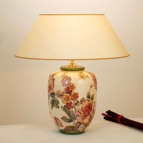 Floral table lamp Potpourri