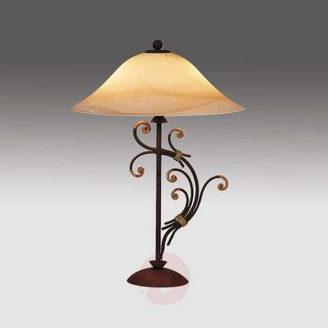 Florence table lamp in Florentine style