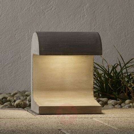 FLOS Casting Concrete - LED pillar light, 3,000 K