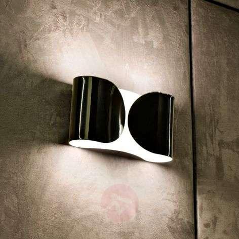 FLOS Foglio - black wall light