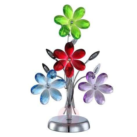 Flower Table Lamp, one lamp