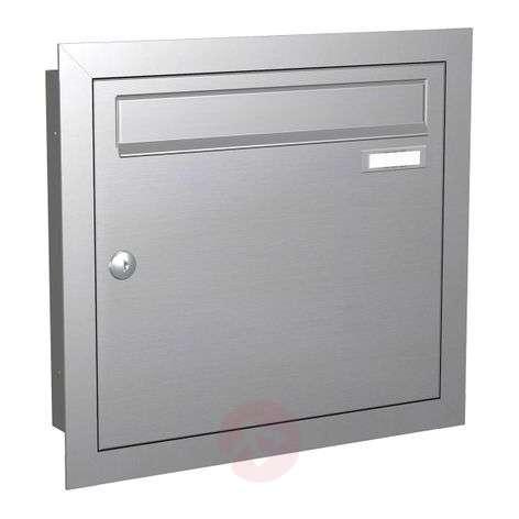 Flush-mounted letterbox Express Box Up 110 st.st.