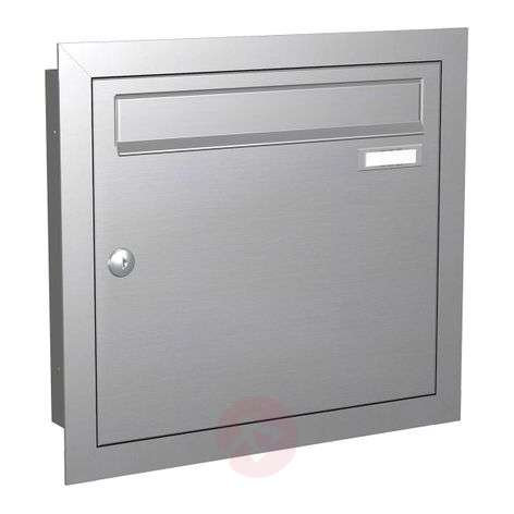 Flush-mounted letterbox Express Box Up 110 st.st.-5540030-31