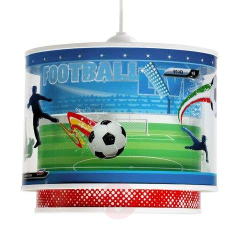 Football - pendant light for sports lovers