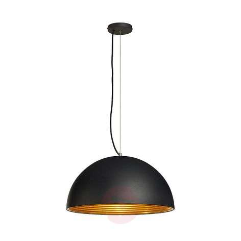 Forchini M Pendant Lamp, 50 cm, Black/Gold-5504428-31