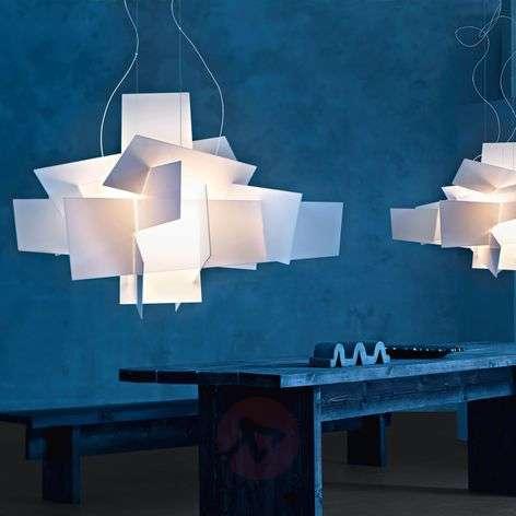 Foscarini Big Bang LED hanging light, white