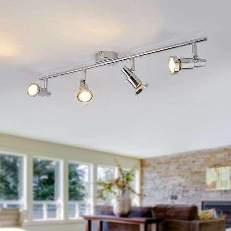 Four-bulb GU10 LED ceiling spotlight Thom