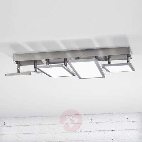 Four-bulb LED ceiling lamp Vanessa, dimmable