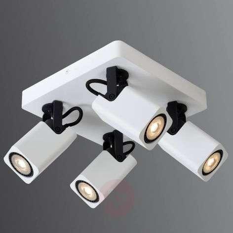 Four-bulb LED ceiling light Roax