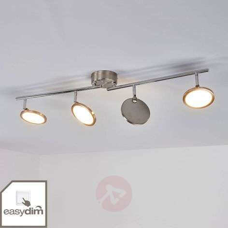 Four-bulb Tyrese Easydim LED ceiling light