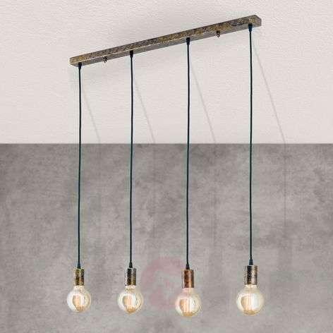 Four-bulb vintage pendant light Rati-7255367-31