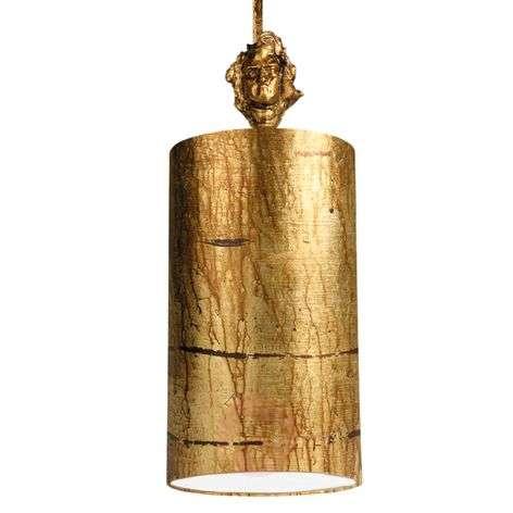 Fragment Gold - hand-decorated pendant light