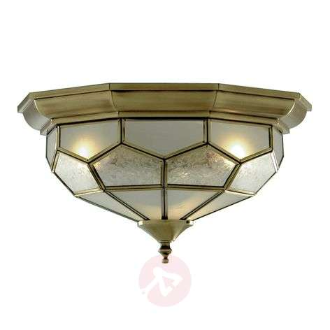 Frida ceiling light with glass inserts