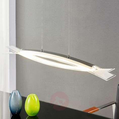Frosted glass - LED hanging light Elina