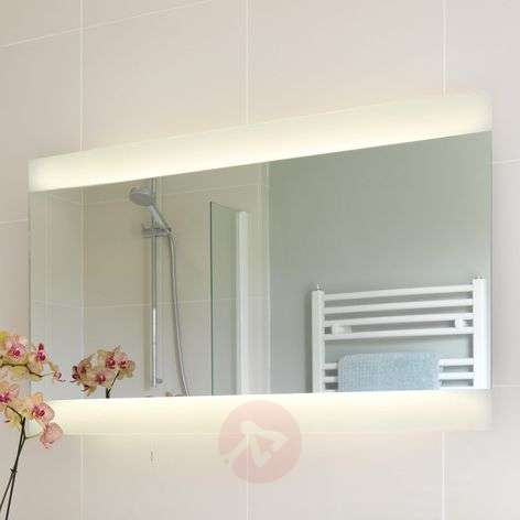 Fuji Wide Mirror with Lighting
