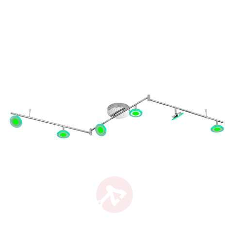 Functional Gemma 6-bulb LED ceiling light