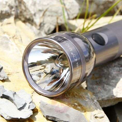 Functional Maglite torch 2 D-Cell, titanium-6535012-31