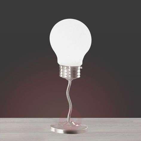 Funny table lamp LAMPADINA