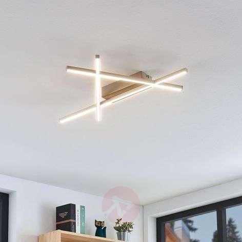Futuristic Mikada LED ceiling light 57 x 33.5cm