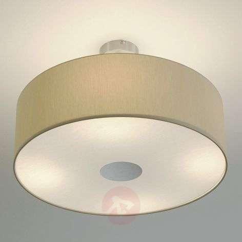 Gala LED ceiling lamp with four light bulbs, beige