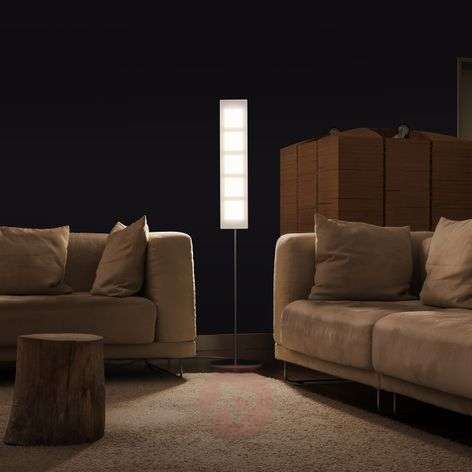 German-made OMLED One f5 floor lamp with OLEDs