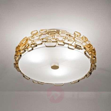 Glamour - designer ceiling light in gold