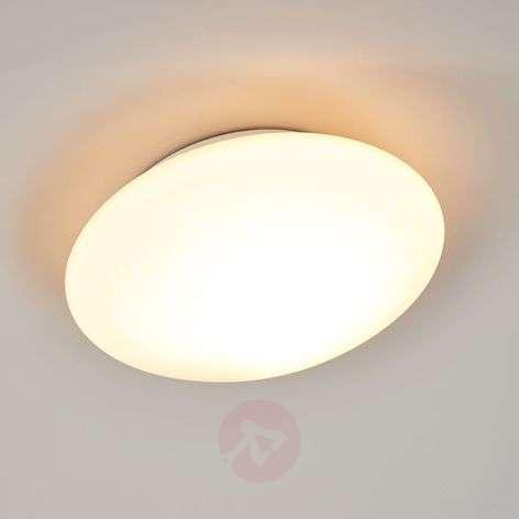 Glass ceiling light Opal