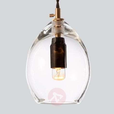 Glass designer hanging light Unika