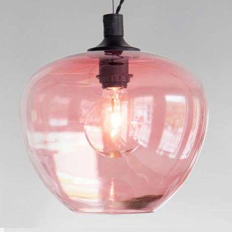 Glass hanging light Bellissimo