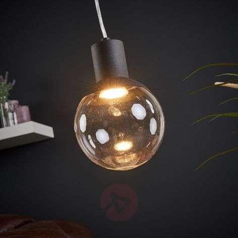 Glass hanging light Land for GU10 LED