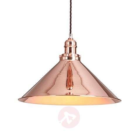 Glittering Provence pendant light, industry style