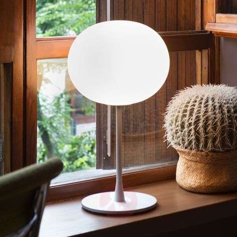 GLO-BALL T1 - Noble Table Lamp, Matt Silver