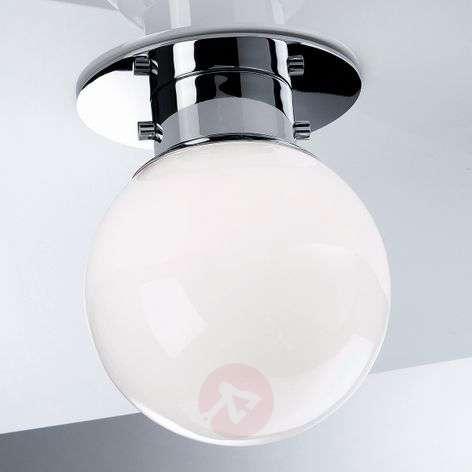 GLOBE classic spherical ceiling light, chrome