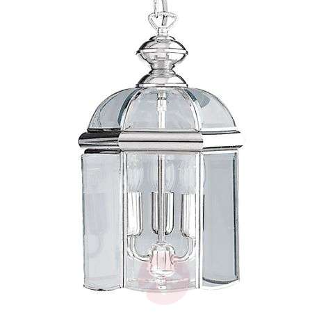glossy chrome ARLIND hanging lamp, chrome-8570176-31