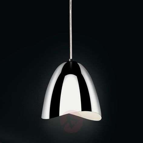 Glossy chrome LED pendant light Mirage