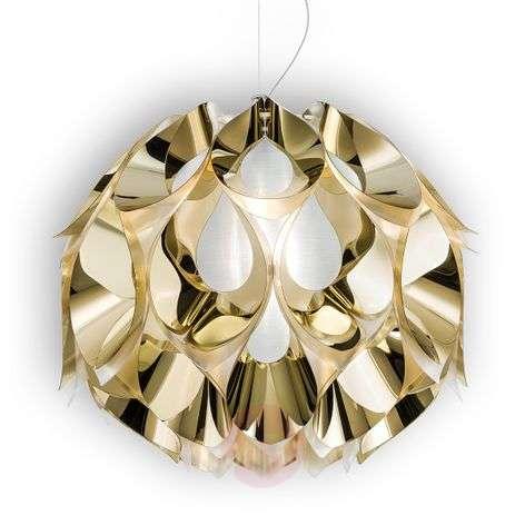 Gold Flora hanging light, 50 cm