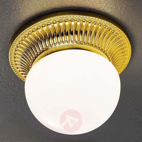 Gold-plated ceiling light Milord