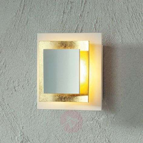 Gold-plated wall light Pages 14 cm