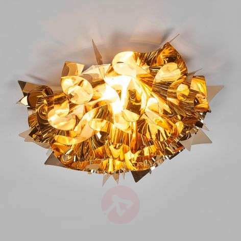 Gold Veli ceiling light, 53 cm