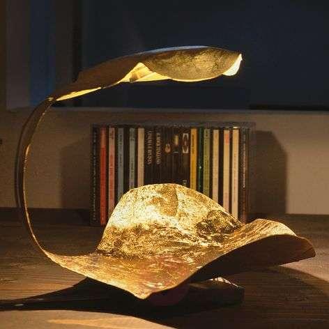 Golden designer LED table lamp Gi.Gi