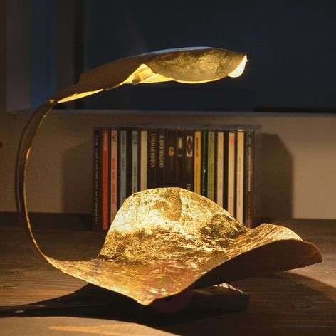 Golden designer LED table lamp Gi.Gi-5538053-31