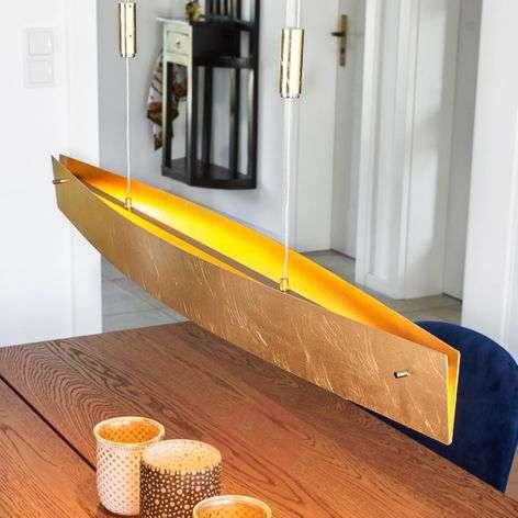 Golden Malu LED pendant lamp, 100 cm