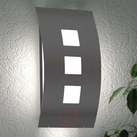 Graal RAL7016 outdoor wall light